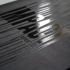 spot uv flyer printing